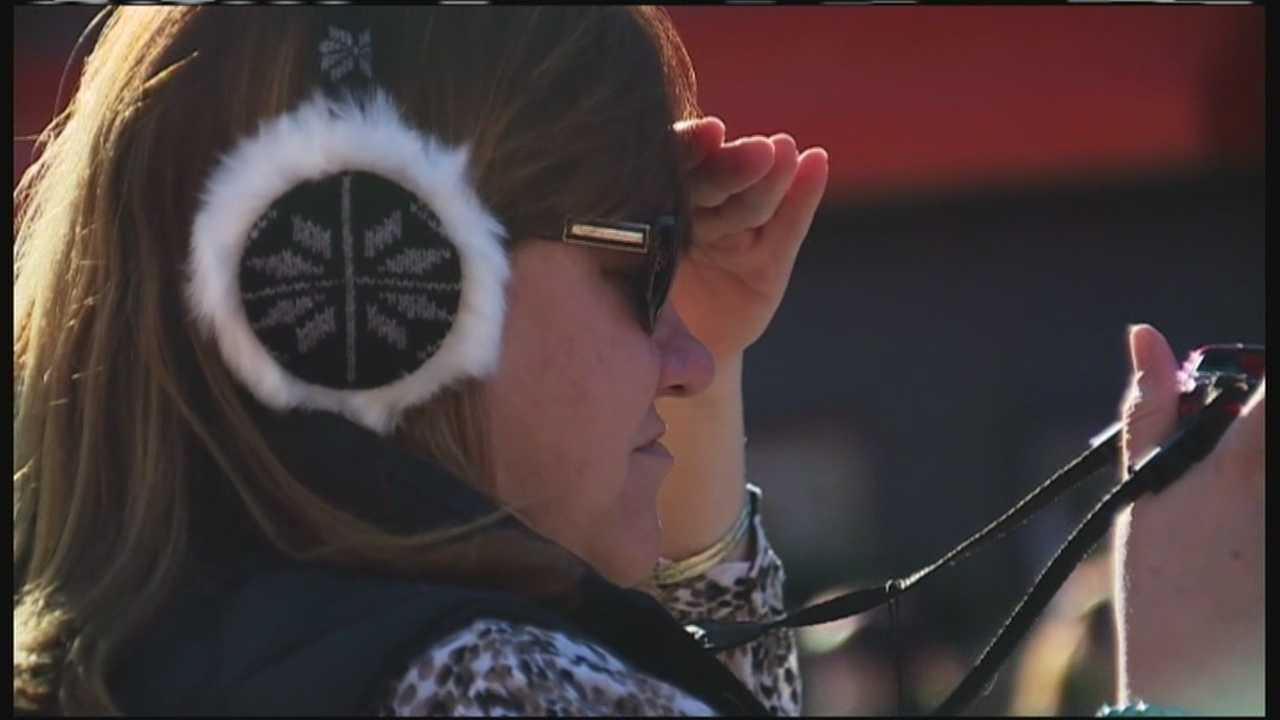 Farmington celebrates the man who invented the earmuffs during a parade Saturday.
