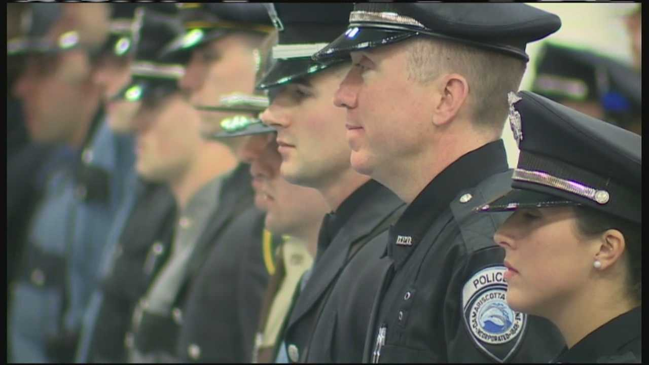 The Maine Criminal Justice Academy's newest class graduated Friday.