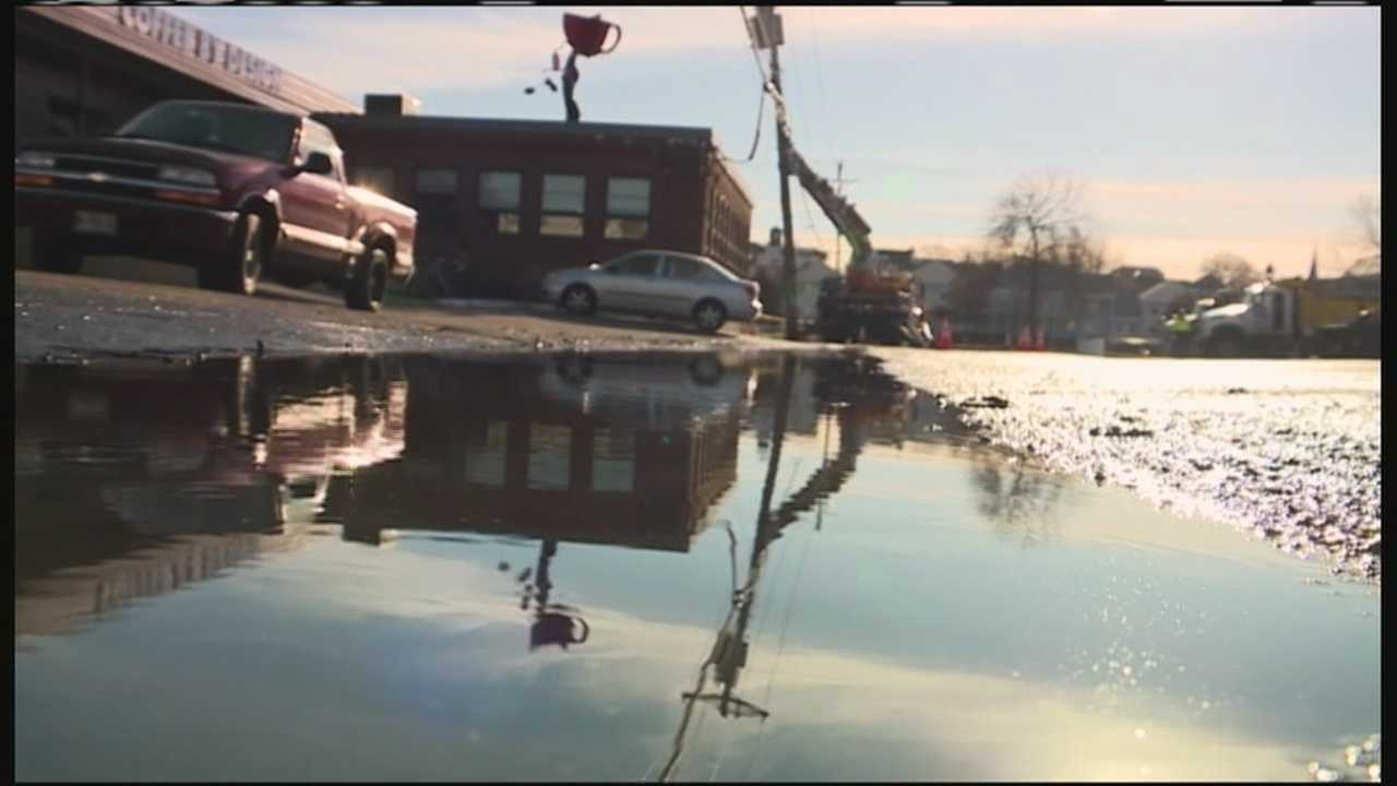 Crews with the Portland Water District fixed a water main break in Portland's East Bayside neighborhood.
