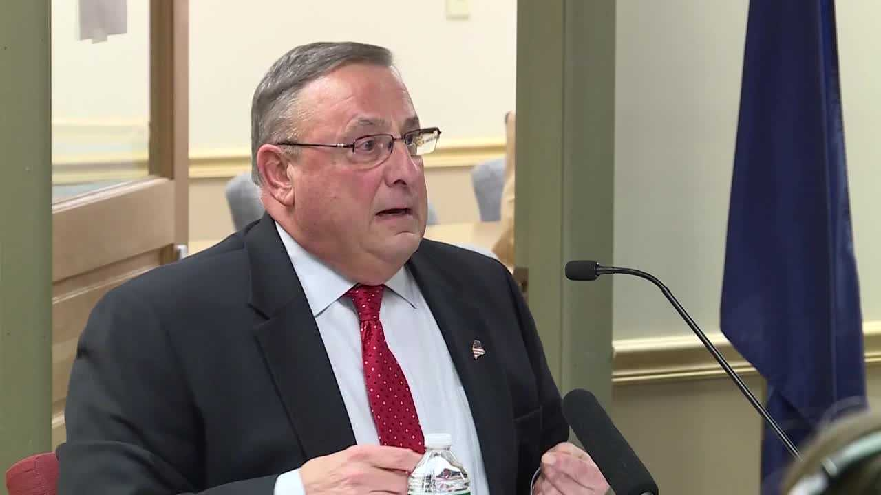 "Maine's Republican governor says out-of-state drug dealers are impregnating ""young white\"" girls. A spokesman said Thursday he wasn't making a comment about race."