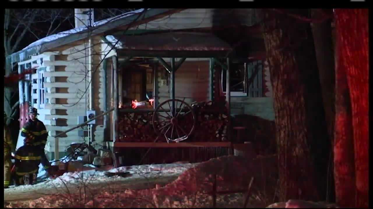 A man was killed in a house fire Sunday night.