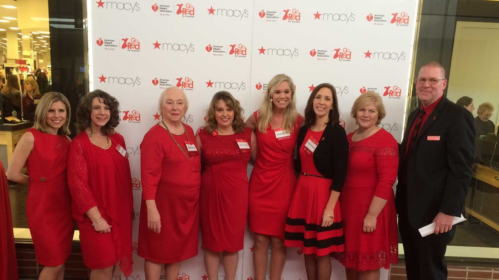 "WMTW News 8 and the American Heart Association announced that six local women will serve as spokeswomen this year for the ""Go Red for Women"" campaign."