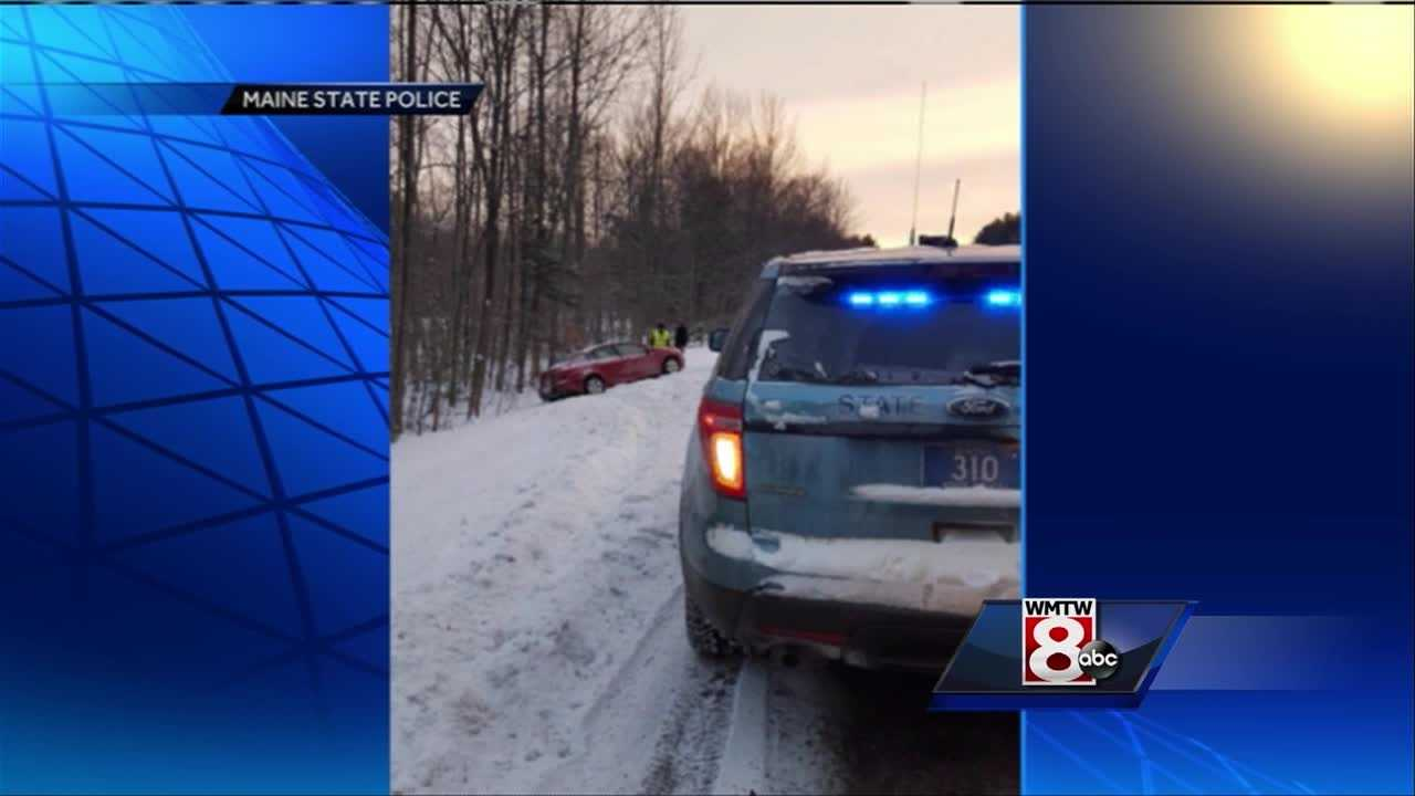 State police say weather appears to be the biggest factor in a multi-vehicle crash on I-95 southbound in Waterville.
