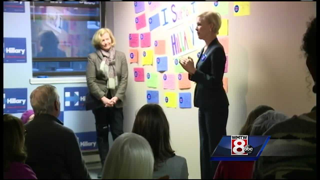 "Rep. Chellie Pingree, D-Maine, and the president of the Planned Parenthood Action Fund, Cecile Richards, launched ""Women for Hillary"" Sunday night."