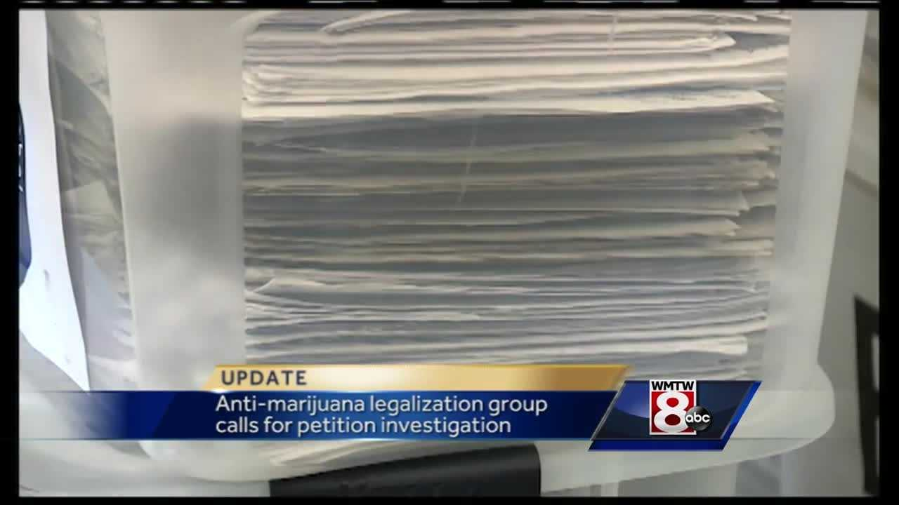 An anti-marijuana group wants the Maine Attorney General's Office to investigate the failed signature-gathering drive to legalize marijuana.