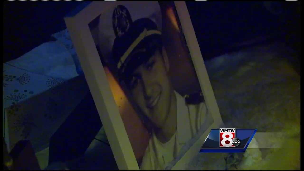 Hundreds of people stood vigil Friday night for missing Maine Maritime Academy student David Breunig. The 21-year old man from Westbrook was last seen Feb. 26 in Orono.