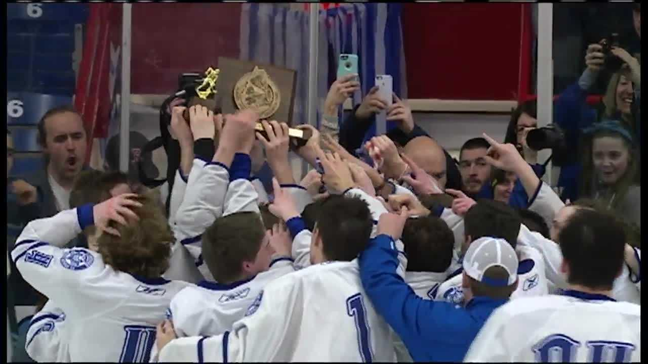 Lewiston won in the final seconds against Scarborough.