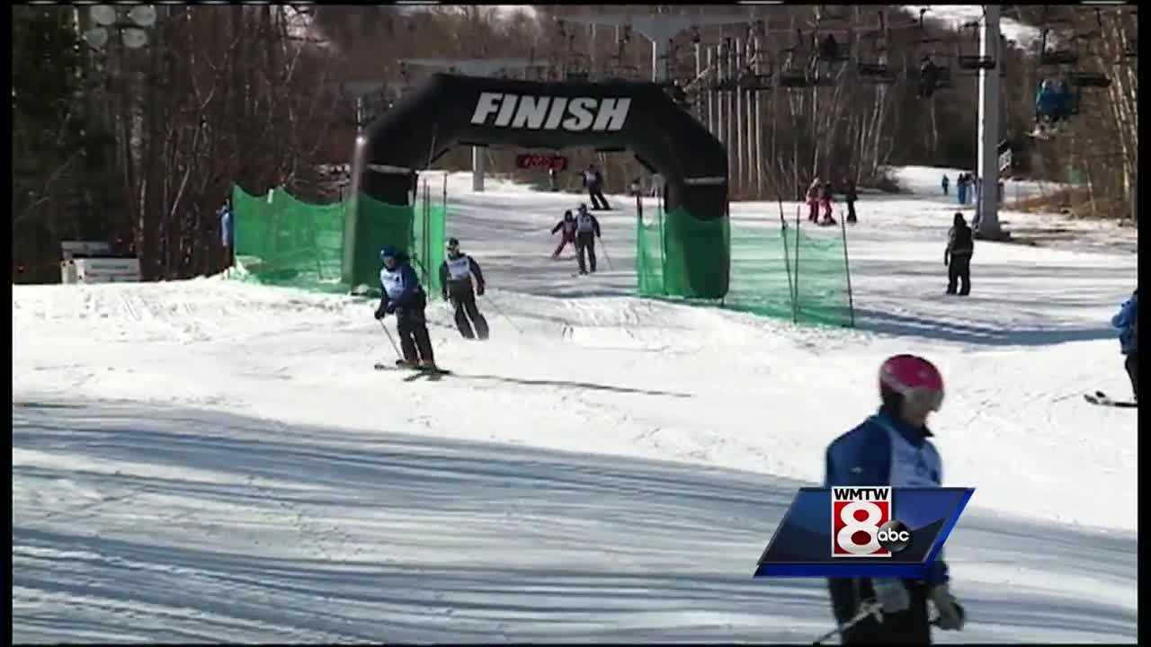 Sugarloaf hosted a 24-hour marathon event to raise money for WinterKids.