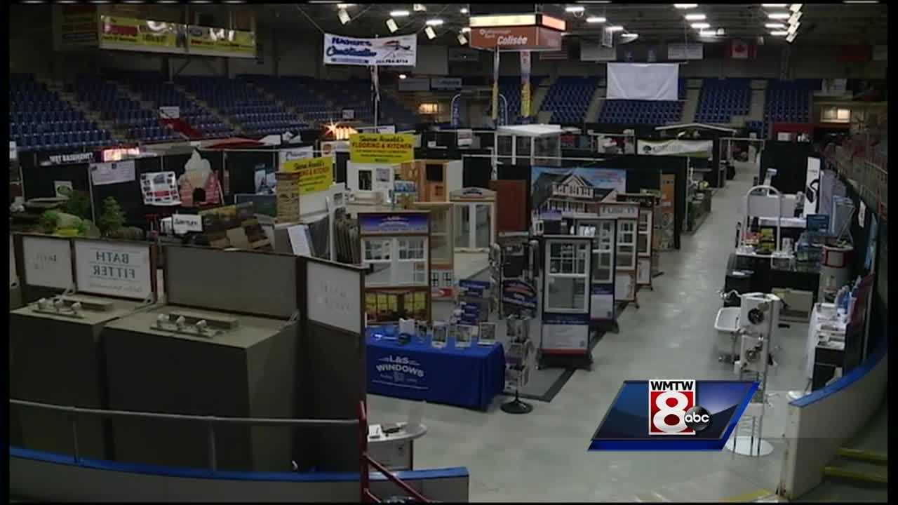 More than 100 vendors filled up the Androscoggin Bank Colisee for the Maine Home Show this weekend.
