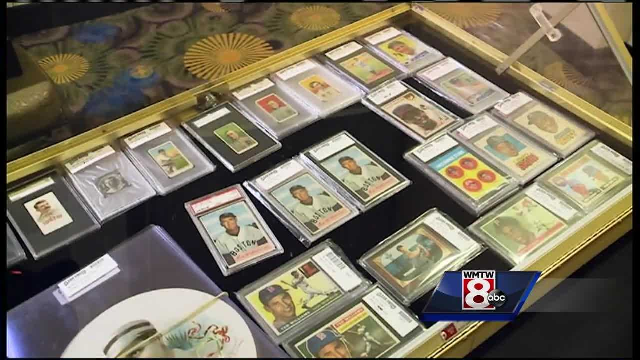 Clear Sweep Auctions is holding an event this weekend in South Portland featuring sports memorabilia.