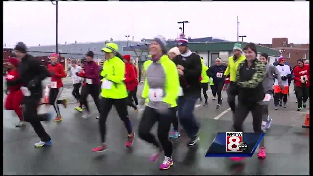 Racers took part in the first-ever Heartstrong 10K to fight the No. 1 cause of death in Maine.