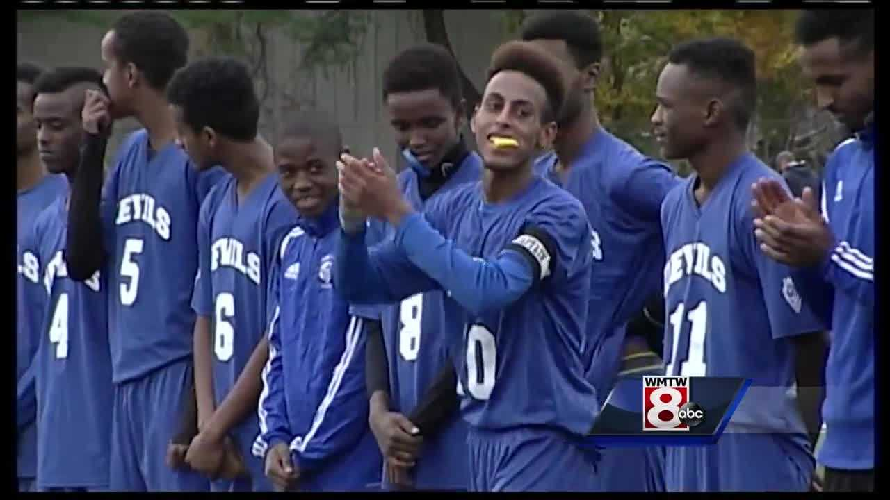 A documentary about the Lewiston boys' soccer team premieres Friday.