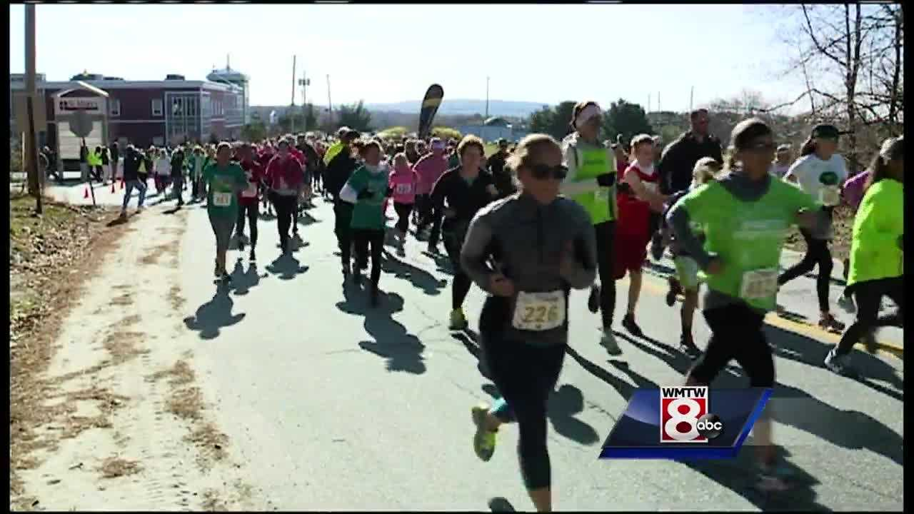 Making the commitment to get and stay fit - that's what runners and walkers did Saturday at the third annual St. Mary's Commit to Get Fit Challenge.