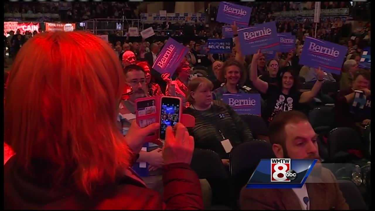 Maine Democrats are delivering a rebuke to the system of superdelegates at their state convention.