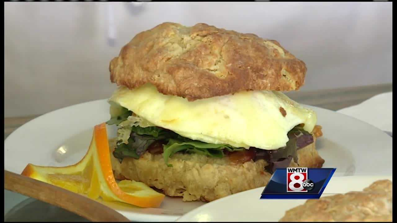 Who doesn't love a delicious, warm biscuit? Jim Keithely takes us to a Biddeford spot that specializes in biscuits in this Morning Menu.