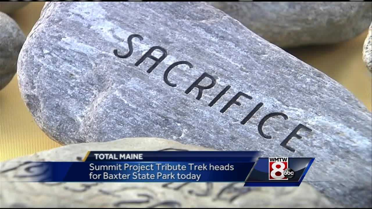 Now in it's third year, the Summit Project honors Maine's fallen soldiers as stones bearing their names are taking to Baxter State Park. News 8's Katie Thompson talks with the founder of the project.
