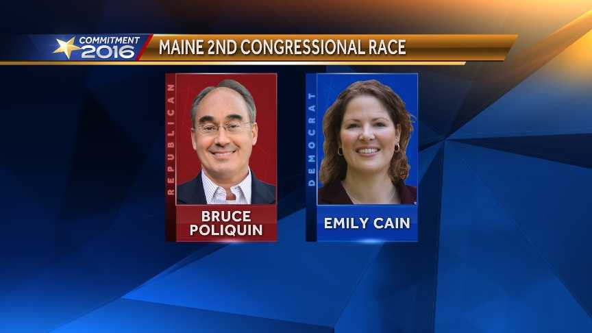 Cain lost to Poliquin in a 2014 race that broke Maine fundraising records for a House race
