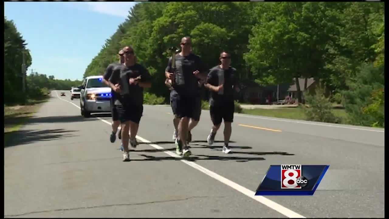 Hundreds of Maine law enforcement members will participate in the annual Special Olympics torch run.