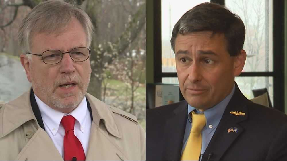 The close race between Mark Holbrook (left) and Ande Smith (right) is headed for a recount.