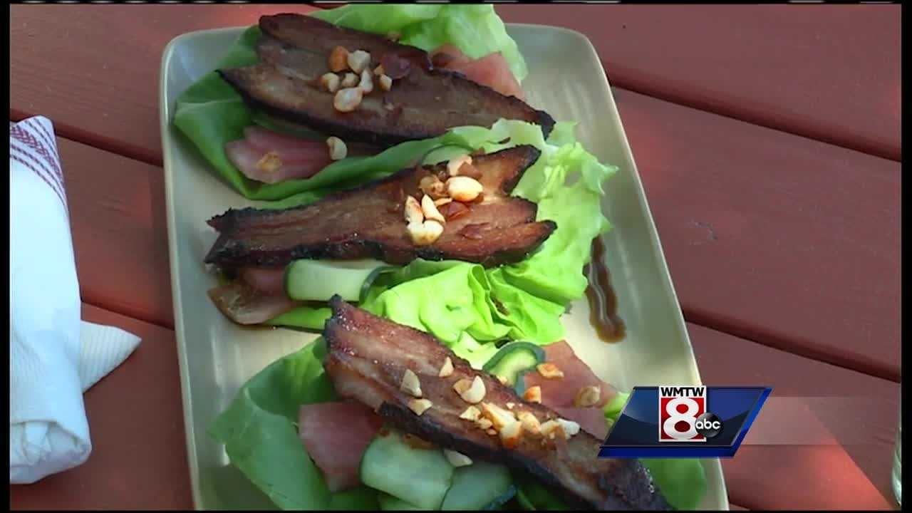 In honor of dad, why not treat him to some BBQ? News 8's Jim Keithley takes us to Terlingua for a great recipe for smoked pork belly!