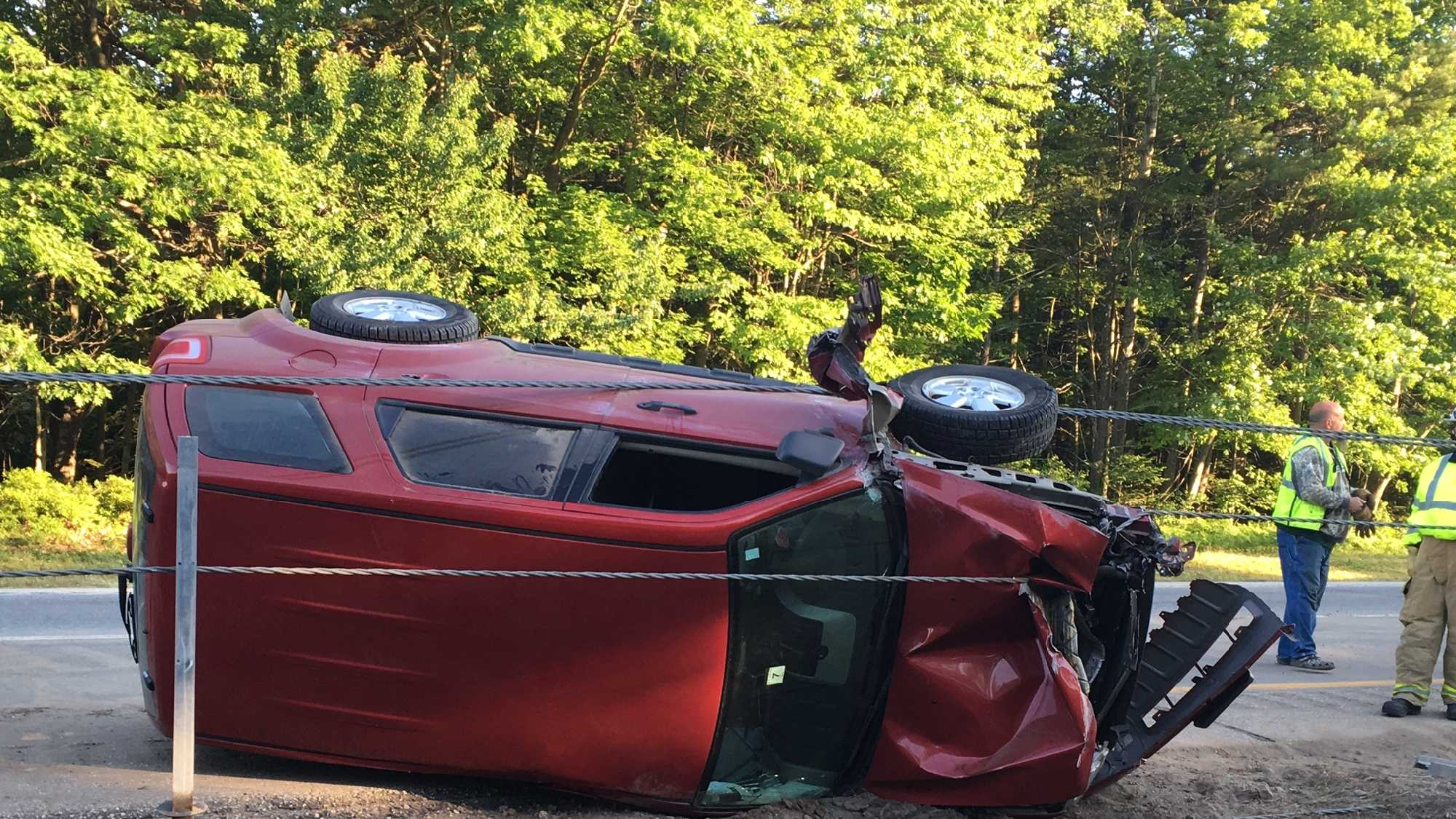 An Augusta man is recovering after crashing his vehicle early Sunday morning.