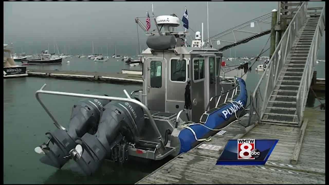 The Falmouth Police Department has a new ride on the water thanks to a grant from the Department of Homeland Security.