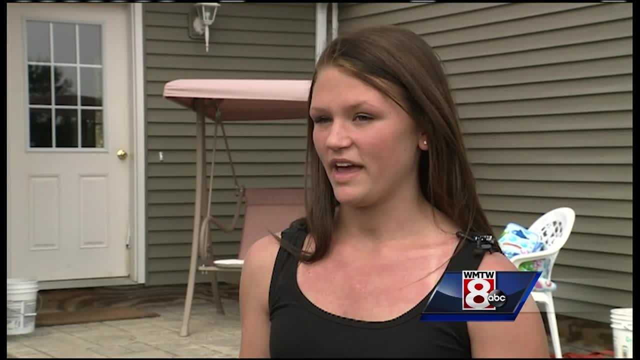 A woman sitting on her front porch in Monmouth was attacked by a rapid fox.