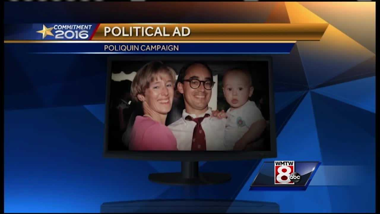 It may be early August, but Rep. Bruce Poliquin already has his sights set on the November election with a new political ad.
