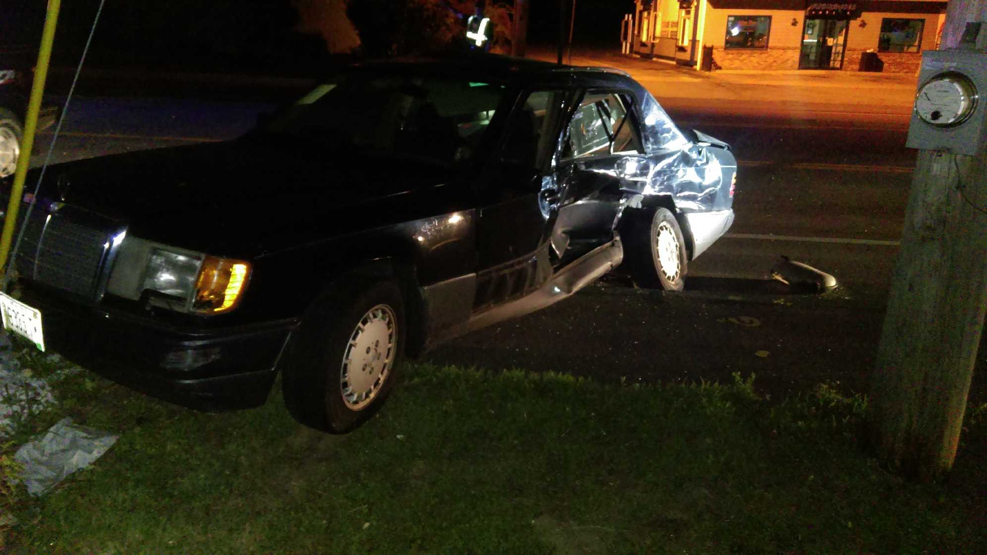 A man from Brownfield has been cited for failure to yield in a crash in Rochester, New Hampshire.