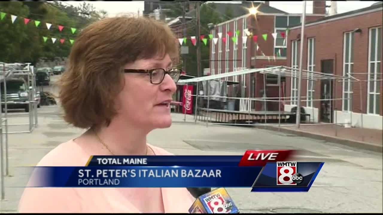 The St. Peter's Italian Festival and Bazaar continues throughout the weekend in Portland, promising family friendly food and games.