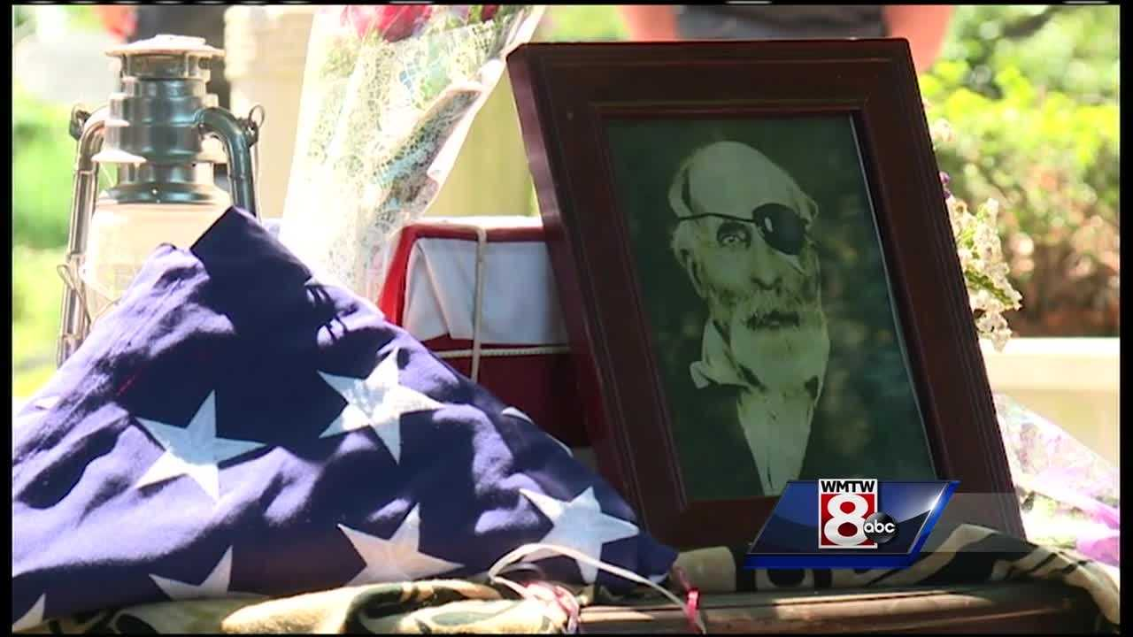 Private Jewett Williams fought for Maine in the Civil War, but his remains never made it home, until Saturday.