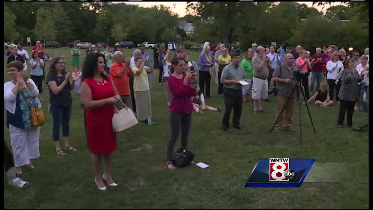 Westbrook city leaders invited the public to a rally Wednesday night in hopes of promoting respectful communication following Gov. LePage's recent controversial remarks.