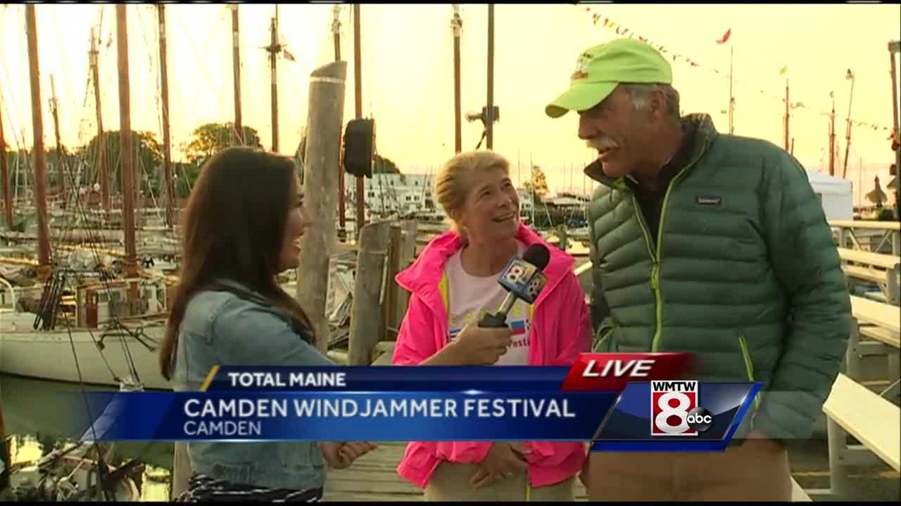 Join WMTW News 8's Courtney Sturgeon in Camden, as she heads up to the annual Camden Windjammer Festival to talk with organizers about all the events taking place throughout Labor Day Weekend.