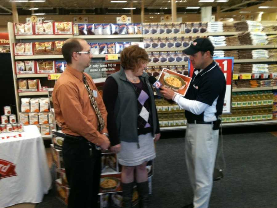 Norm at Hannaford on Sabattus Street in Lewiston.