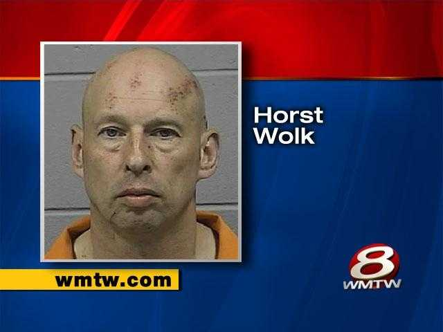 Horst Wolk pleaded guilty to aggravated assault, criminal threatening and violation of a protection order.