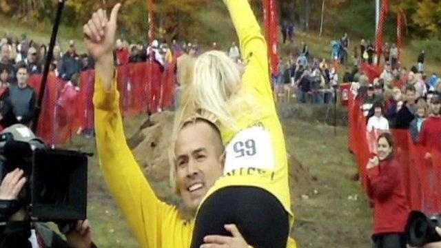 Wife Carrying Champs
