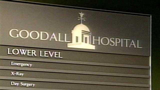 Goodall Hospital, which operates the facility, said the patient is fine and the facility has been cleaned and checked over.