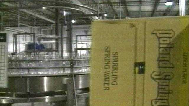Poland Spring bottling plant