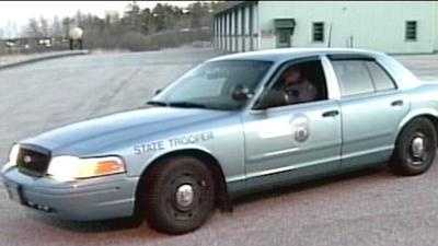 Maine State Police cruiser