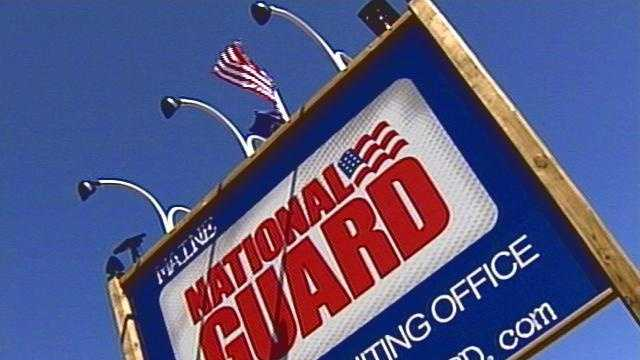 National Guard recruiting station