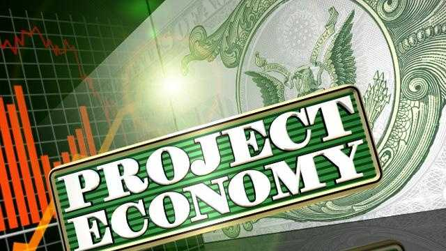 Project economy logo with background generic - 18530376
