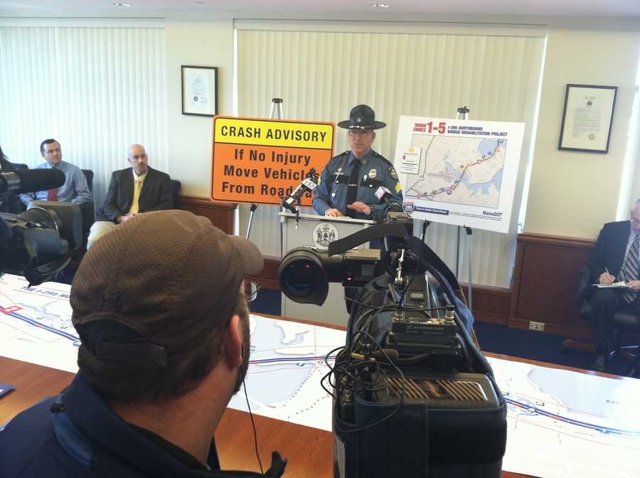 Maine State Police are urging drivers to be careful when driving through the construction zones.