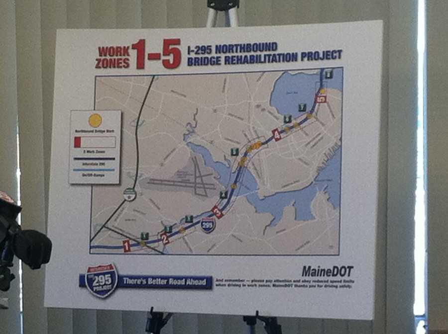 The construction will take place in the Portland area.