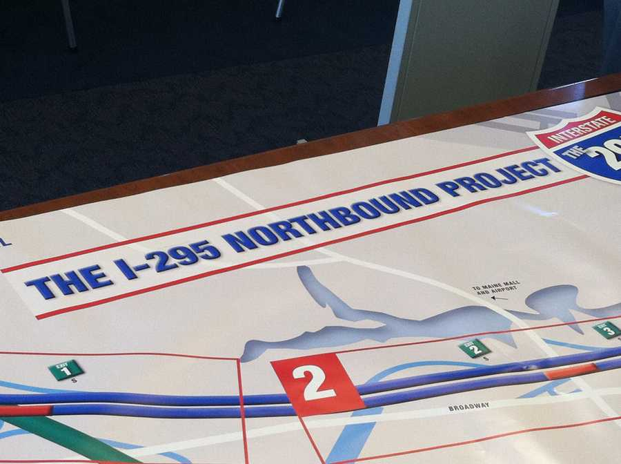 MaineDOT announced bridge construction projects for I-295.