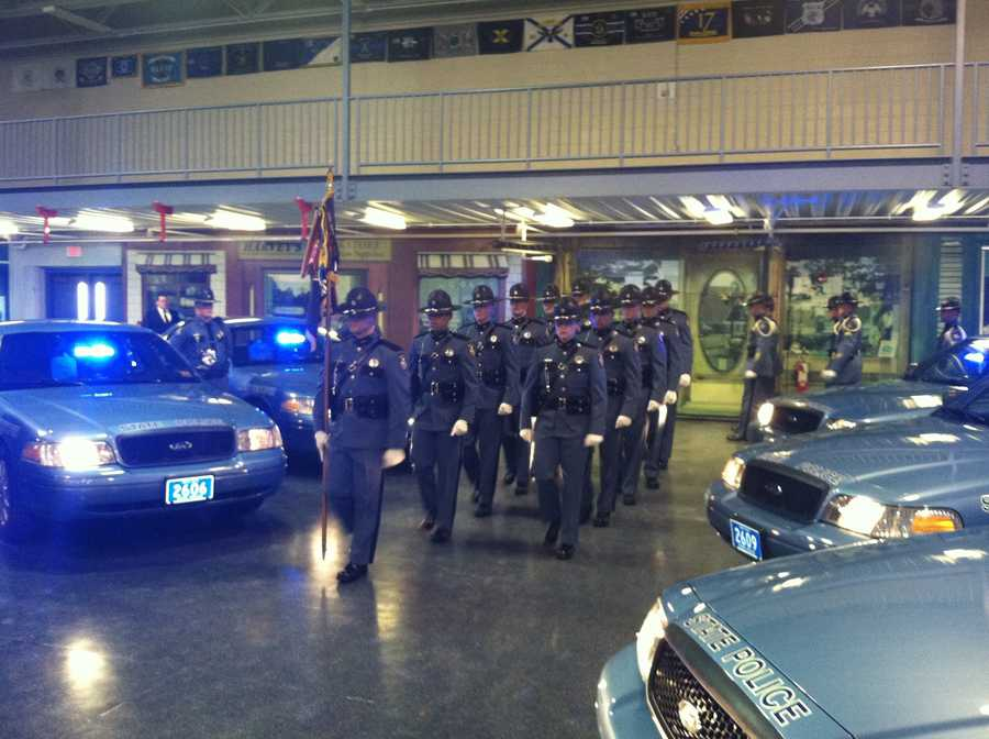 Eleven new officers will join the Maine State Police.