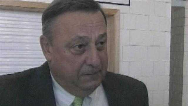 While in Washington D.C. over the weekend, Governor Paul LePage said he's not happy with any of the candidates in the Republican Presidential race.  News 8's Norm Karkos reports.