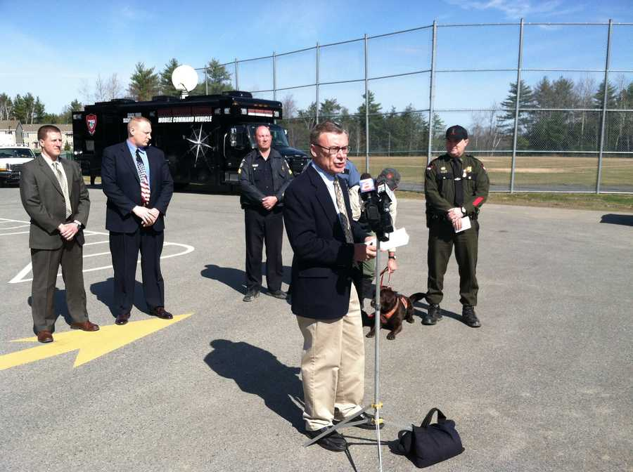 Maine Public Safety spokesman Steve McCausland held a news conference letting the media know that there was nothing new in the case.