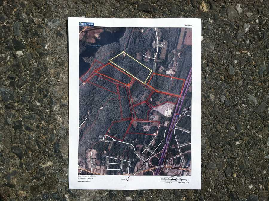 This is the area crews searched.