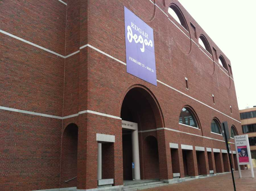 The Portland Museum of Art has finished 2012 with the second-highest attendance in museum history.