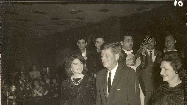 "Jacqueline Kennedy was overheard saying to her husband, ""Isn't this wonderful. It reminds me of Mexico City."""